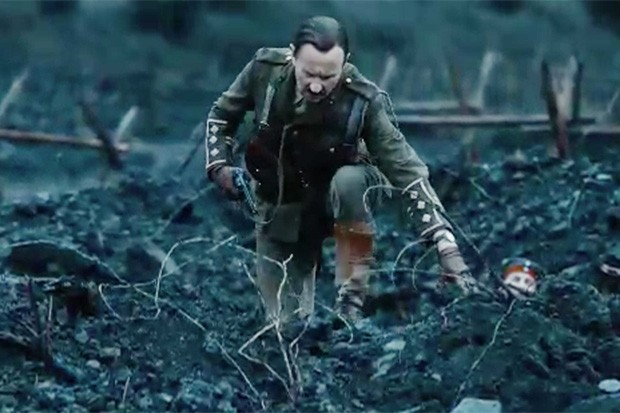 Mark Gatiss as the Captain in Doctor Who