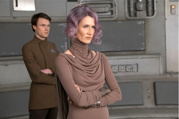 Laura Dern as Admiral Holdo in The Last Jedi (Lucasfilm, HF)