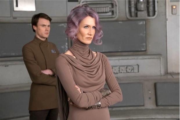 Laura Dern as Admiral Holdo in The Last Jedi (Lucasfilm, HF)