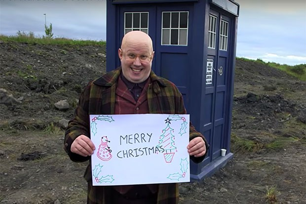 Matt Lucas in Doctor Who's Christmas special, YouTube, SL