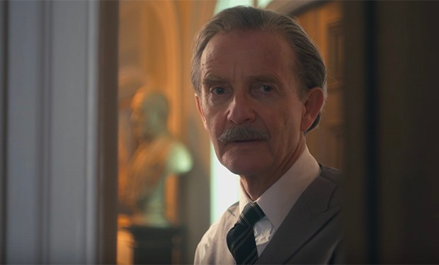 Anton Lesser as Harold Macmillan in The Crown