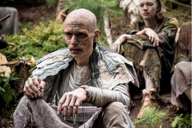 Mackenzie Crook as Veran in Britannia