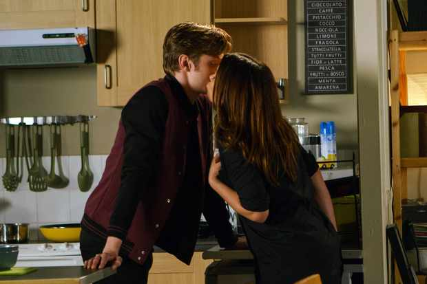 FROM ITV   STRICT EMBARGO  Print media - No Use Before Tuesday 23 January 2018 Online Media -  No Use Before 0700hrs Tuesday 23 January 2018  Coronation Street - Ep 9369  Friday 2 February 2018 - 1st Ep  Carla Connor [ALISON KING] is nervous knowing that Aidan and Kate are going for their initial tests to see if they can be a donor. Bored she invites herself back to Daniel Barlow's [ROB MALLARD] flat after hearing that Sinead knocked him back. Once inside she is flirtatious and a smitten Daniel gets more than he bargained for!   Picture contact - david.crook@itv.com  Photographer - Mark Bruce  This photograph is (C) ITV Plc and can only be reproduced for editorial purposes directly in connection with the programme or event mentioned above, or ITV plc. Once made available by ITV plc Picture Desk, this photograph can be reproduced once only up until the transmission [TX] date and no reproduction fee will be charged. Any subsequent usage may incur a fee. This photograph must not be manipulated [excluding basic cropping] in a manner which alters the visual appearance of the person photographed deemed detrimental or inappropriate by ITV plc Picture Desk. This photograph must not be syndicated to any other company, publication or website, or permanently archived, without the express written permission of ITV Plc Picture Desk. Full Terms and conditions are available on the website www.itvpictures.com