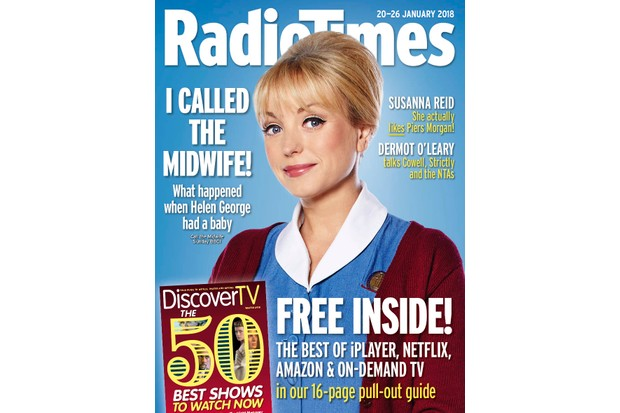Radio Times cover Helen George
