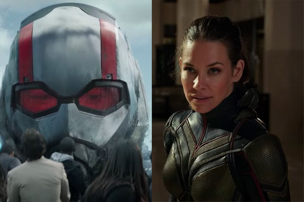 Paul Rudd and Evangeline Lilly in Ant-Man and the Wasp (Marvel, HF)