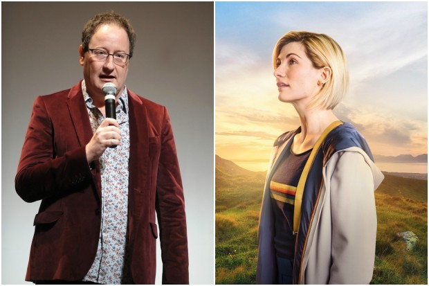 Doctor Who showrunner Chris Chibnall and star Jodie Whittaker (Getty, BBC, HF)