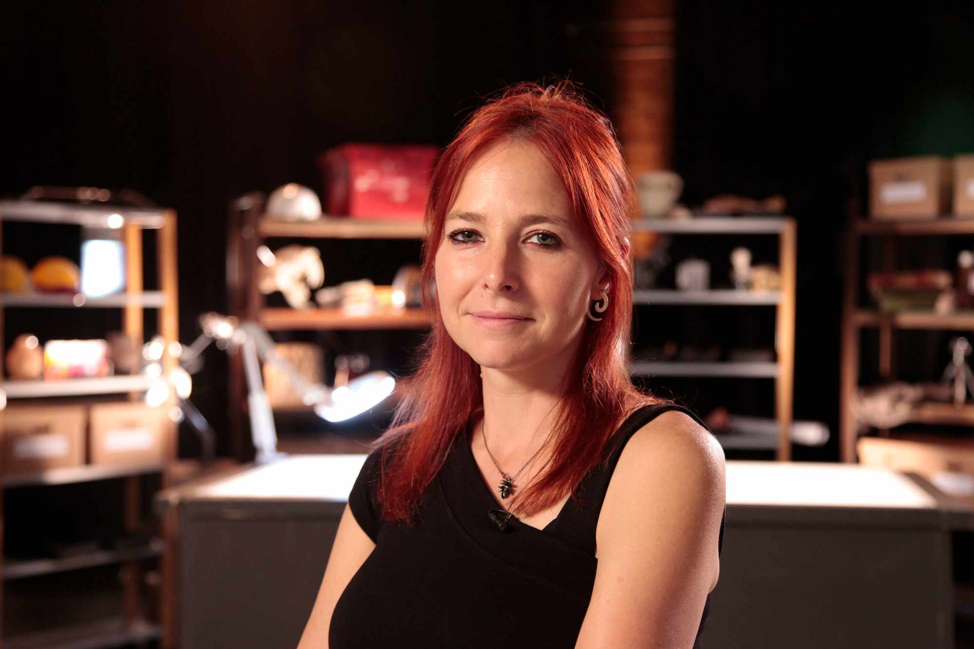 Programme Name: Digging for Britain - TX: n/a - Episode: n/a (No. Generics) - Picture Shows:  Professor Alice Roberts - (C) 360Production - Photographer: Production BBC, TL