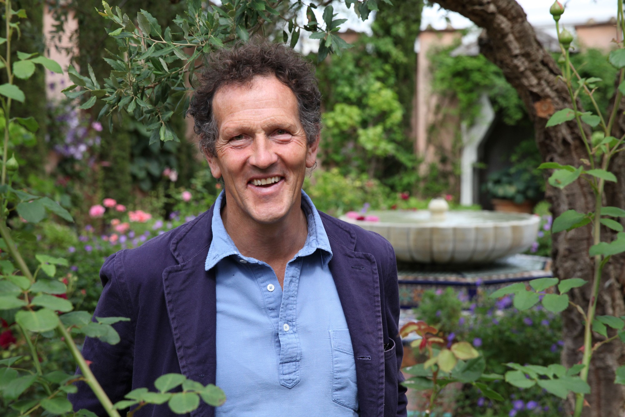 WARNING: Embargoed for publication until 00:00:01 on 16/01/2018 - Programme Name: Monty Don's Paradise Gardens - TX: n/a - Episode: n/a (No. 2) - Picture Shows: in Highgrove. Monty Don - (C) Blink Films - Photographer: Andre Holzinger  BBC, TL