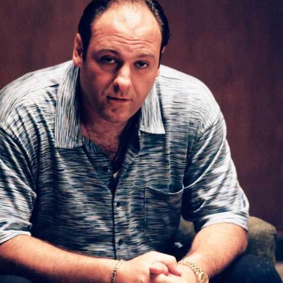 The Sopranos Season 1  Gandolfini, James as Tony Soprano  © Copyright 2000-2005 Home Box Office Inc. All Rights Reserved. Ron Batzdorff