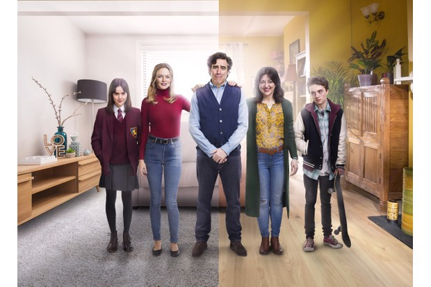 Bliss cast shot, publicity photo from Sky, BD