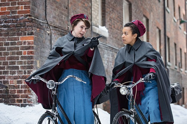 Nurse Valerie Dyer and Nurse Lucille Anderson in Call the Midwife