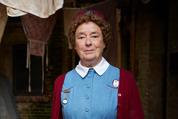 Call the Midwife - Linda Bassett as Nurse Phyllis Crane