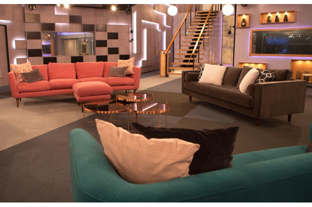Celebrity Big Brother Jan 2018 House - Lounge and Stairs