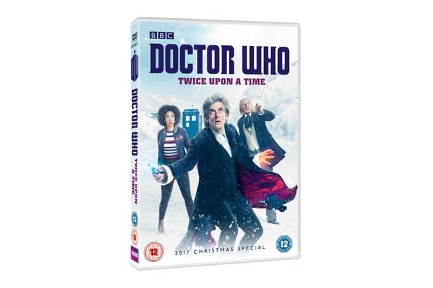 Doctor Who: Twice Upon a Time DVD cover