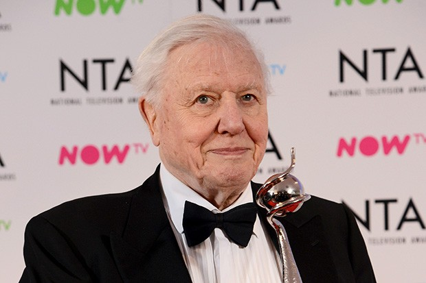 National Television Awards - David Attenborough