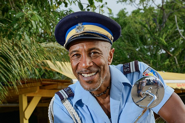 Death in Paradise – Danny John-Jules as Dwayne Myers