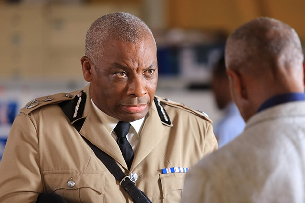 Death in Paradise – Don Warrington as Commissioner Selwyn Patterson