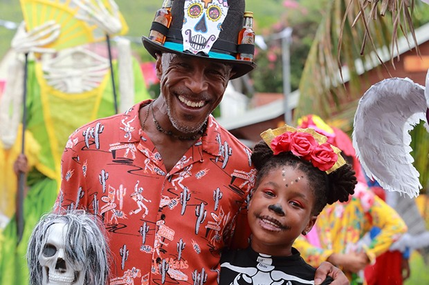 Death in Paradise - Dwayne and Elize
