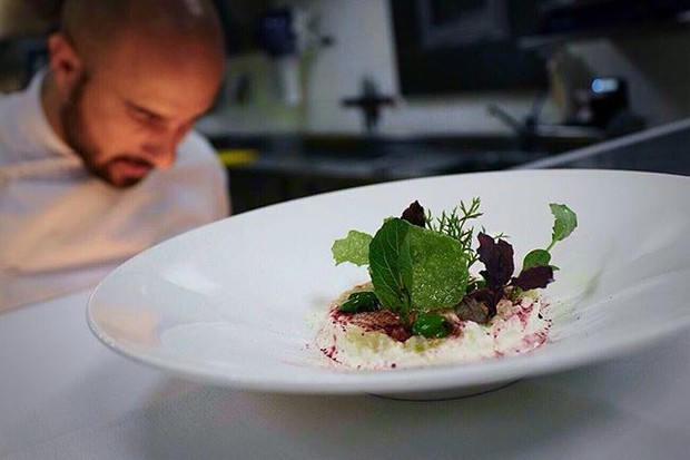 Award-winning chef Luciano Villani dishes up a dainty dinner