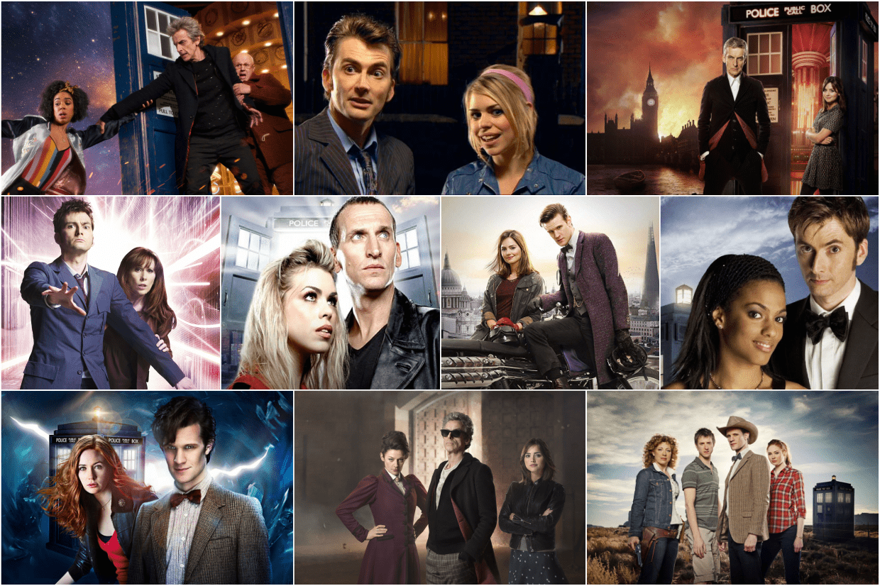 Doctor Who NuWho Series 1 to 10