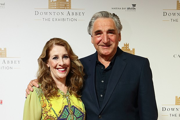 Downton Abbey stars Phyllis Logan and Jim Carter