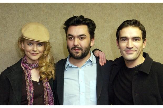 Jez Butterworth with Birthday Girl stars Nicole Kidman and Ben Chaplin (Getty, EH)