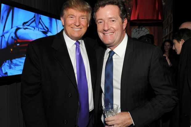 Donald Trump Piers Morgan