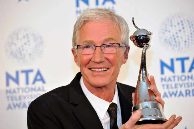 Paul O'Grady at the National Television Awards