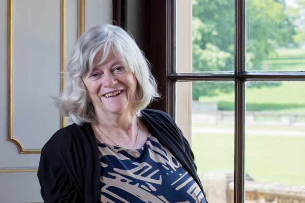 ALTHORP, ENGLAND - JUNE 13:  Ann Widdecombe poses on the opening day of the Althorp Literary Festival on June 13, 2013 in Althorp, United Kingdom. (Photo by Pool / Getty Images) Getty TL