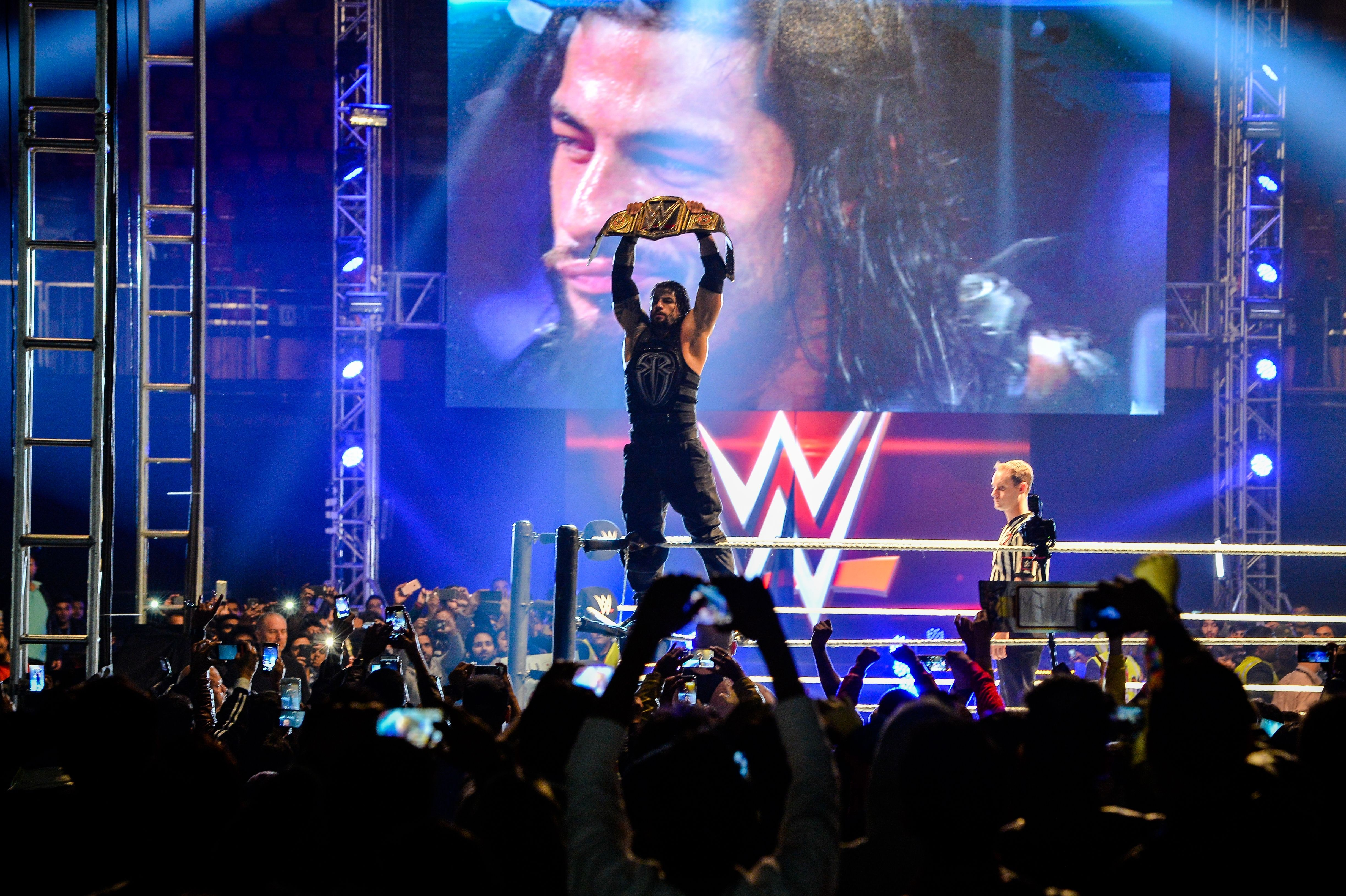 WWE Live India (Getty, MH)