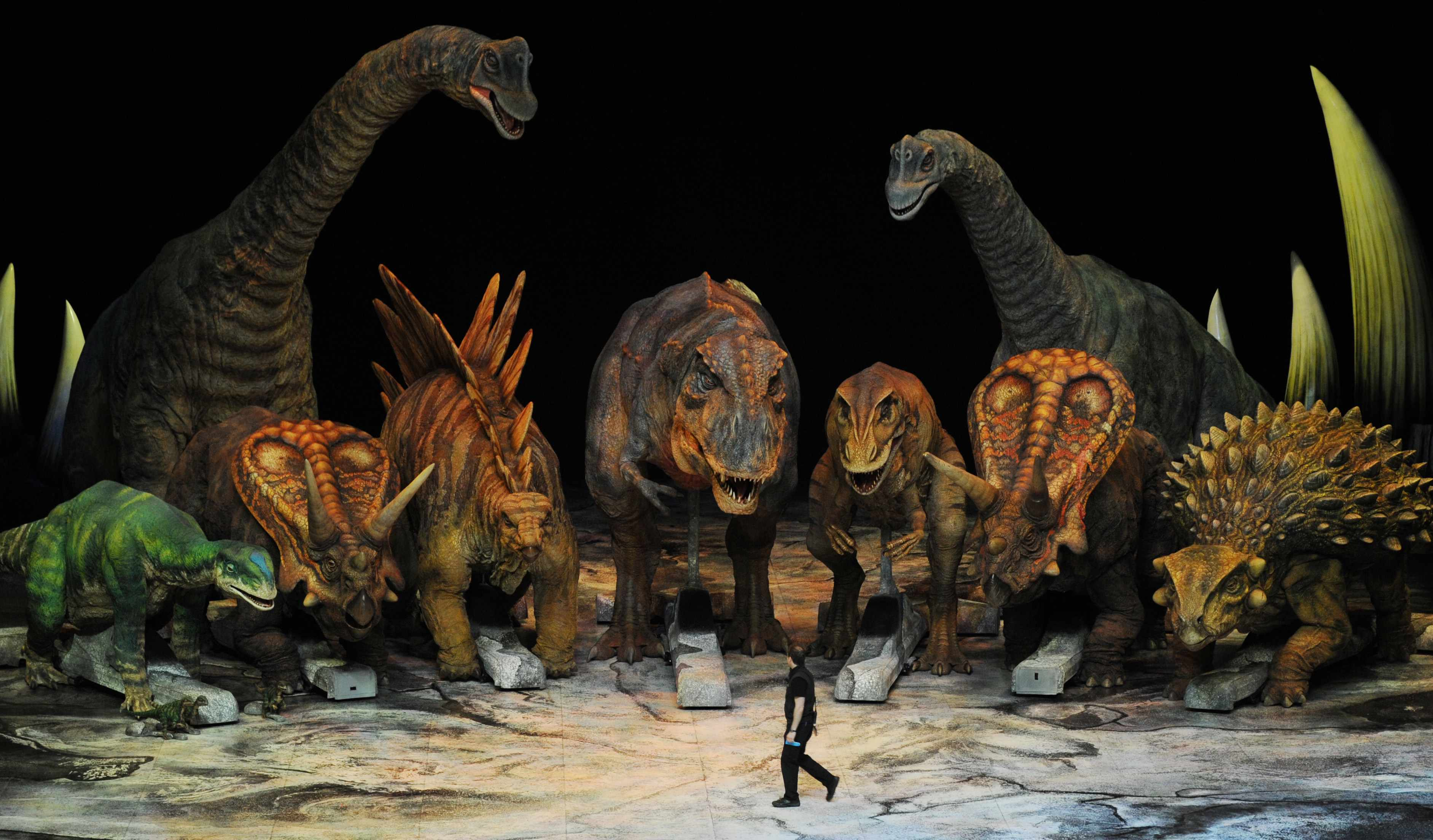 Walking with Dinosaurs (Getty, MH)
