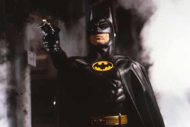 Michael Keaton on the set of Batman (Getty, EH)