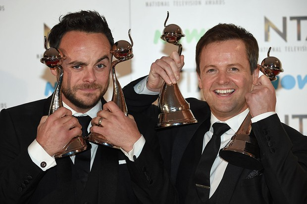 Ant and Dec at the National Television Awards