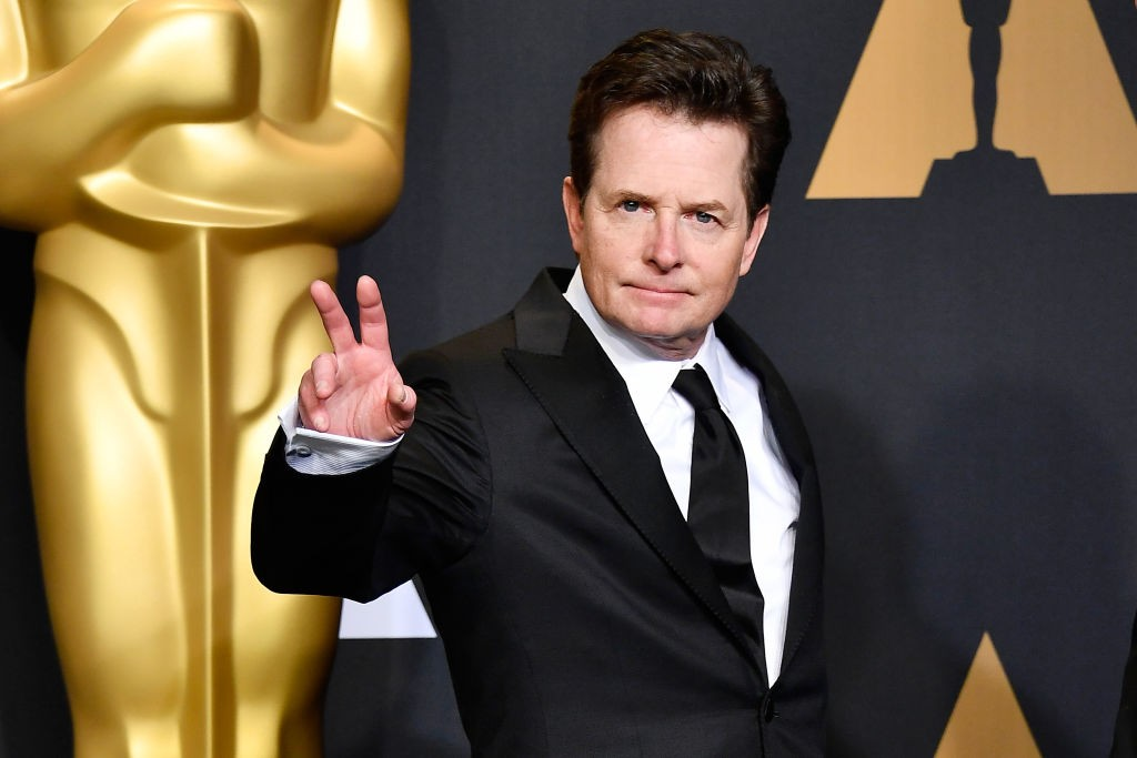 Michael J Fox at the 89th Annual Academy Awards