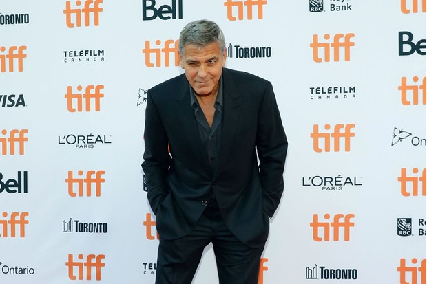 """TORONTO, ON - SEPTEMBER 09: George Clooney attends the premiere of """"Suburbicon"""" during the 2017 Toronto International Film Festival at Princess of Wales Theatre on September 9, 2017 in Toronto, Canada. (Photo by Taylor Hill/FilmMagic, BA)"""