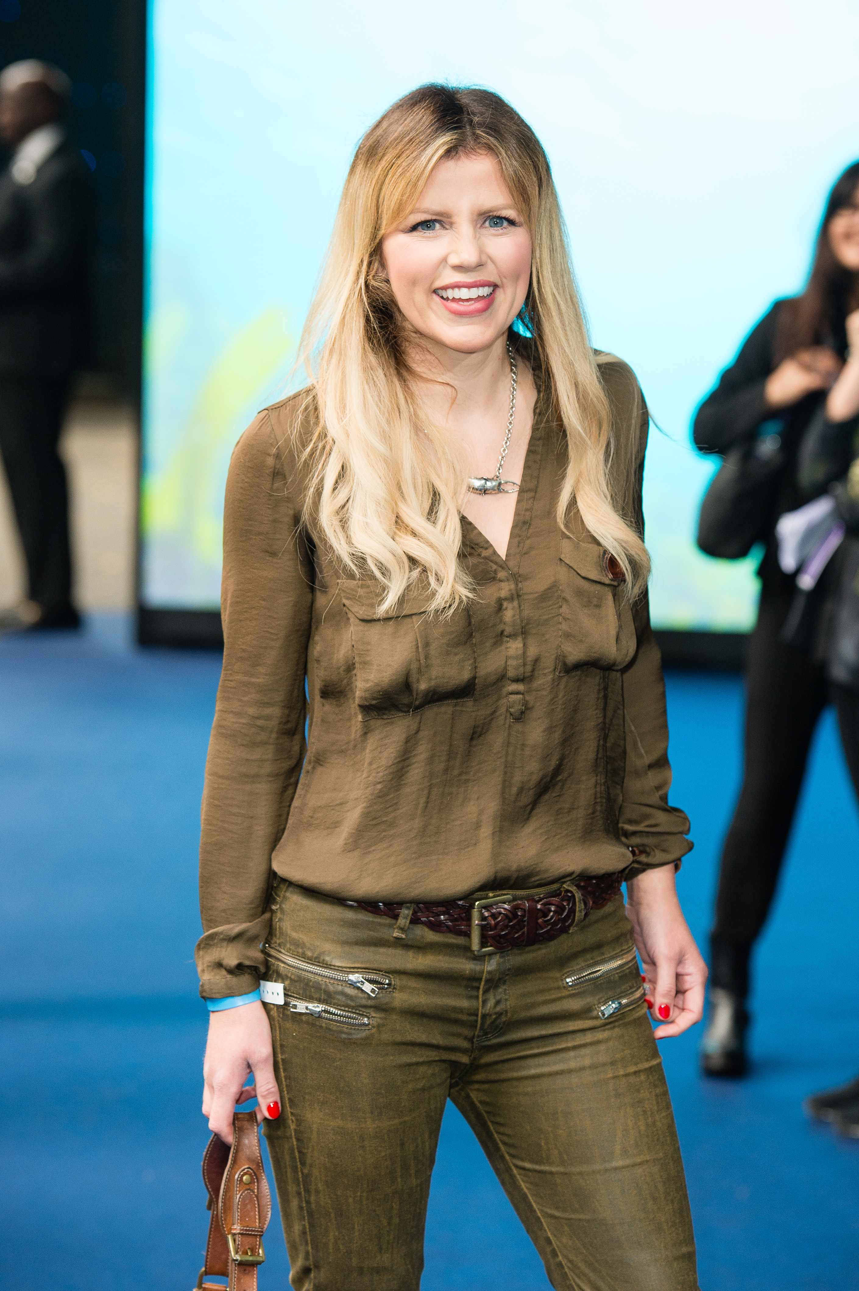 """LONDON, ENGLAND - SEPTEMBER 27:  Ellie Harrison attends the World Premiere of """"Blue Planet II"""" on September 27, 2017 in London, United Kingdom.  (Photo by Jeff Spicer/Getty Images)"""