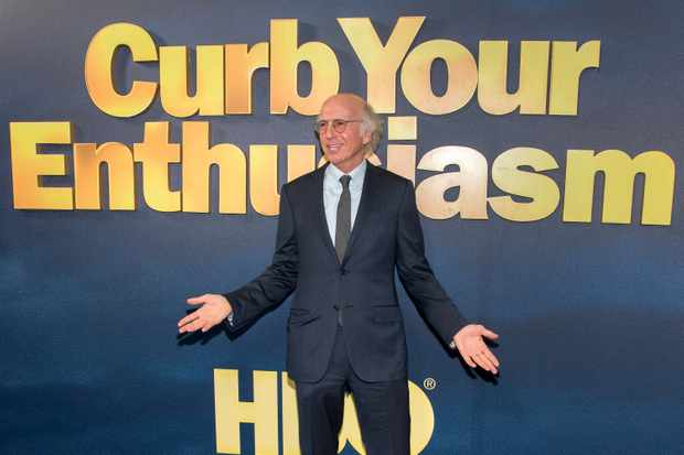 "NEW YORK, NY - SEPTEMBER 27:  Larry David attends the ""Curb Your Enthusiasm"" season 9 premiere at SVA Theater on September 27, 2017 in New York City.  (Photo by Mike Pont/FilmMagic)"
