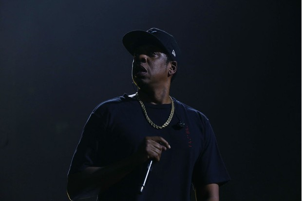 THE BROOKLYN BOROUGH OF NEW YORK CITY, NY - OCTOBER 17: Jay Z performs Tidal X: Brooklyn at Barclays Center on October 17, 2017 in the Brooklyn borough of New York City, New York. (Photo by Shareif Ziyadat/FilmMagic, BA)