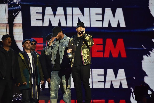 Eminem at the MTV EMAs 2017