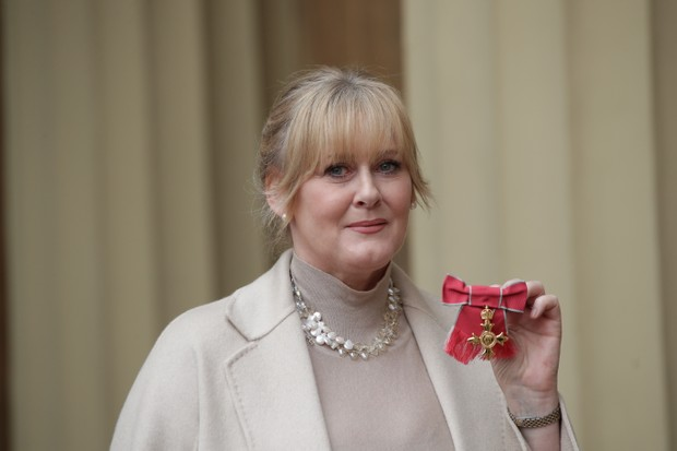 Sarah Lancashire receives an OBE (Getty, EH)