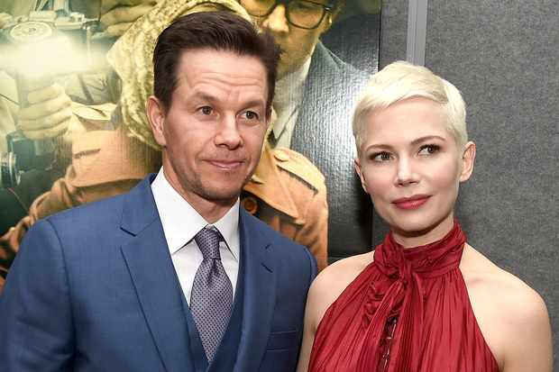 """BEVERLY HILLS, CA - DECEMBER 18:  Mark Wahlberg (L) and Michelle Williams attend the premiere of Sony Pictures Entertainment's """"All The Money In The World"""" at Samuel Goldwyn Theater on December 18, 2017 in Beverly Hills, California.  (Photo by Kevin Winter/Getty Images)  Getty, TL"""
