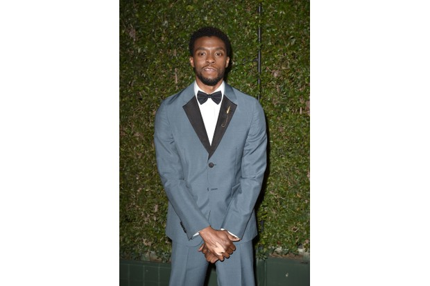 PASADENA, CA - JANUARY 15: Chadwick Boseman attends the 49th NAACP Image Awards - Arrivals at Pasadena Civic Auditorium on January 15, 2018 in Pasadena, California. (Photo by David Crotty/Patrick McMullan via Getty Images)