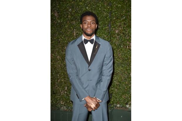 PASADENA, CA - JANUARY 15: Chadwick Boseman attends the 49th NAACP Image Awards - Arrivals at Pasadena Civic Auditorium on January 15, 2018 in Pasadena, California. (Photo by David Crotty/Patrick McMullan via Getty Images)