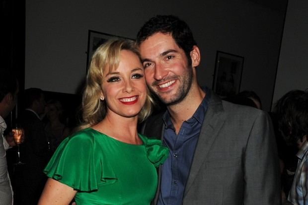 Tamzin Outhwaite and Tom Ellis (Getty, EH)