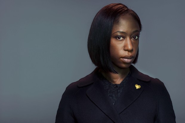 WARNING: Embargoed for publication until 00:00:01 on 29/12/2017 - Programme Name: Hard Sun - TX: n/a - Episode: n/a (No. 1) - Picture Shows: ***EMBARGOED UNTIL 29th DEC 2017*** Grace Morrigan (NIKKI AMUKA-BIRD) - (C) Euston Films - Photographer: Todd Antony