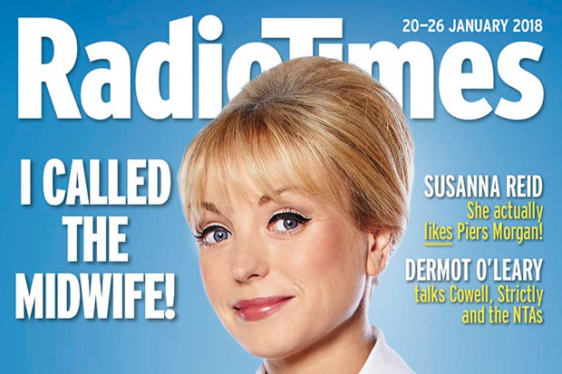 Helen George on the cover of Radio Times