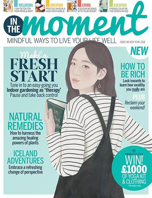 In The Moment Magazine cover, TG