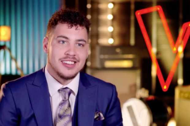Jordan James The Voice UK