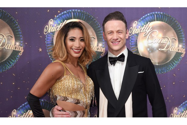 Karen Clifton and Kevin Clifton on Strictly Come Dancing