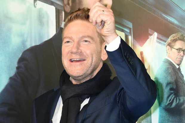 TOKYO, JAPAN - DECEMBER 05:  Actor Kenneth Branagh attrends the premier event for 'Murder on the Orient Express' at Roppongi Hills on December 5, 2017 in Tokyo, Japan.  (Photo by Jun Sato/WireImage)